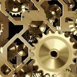 Meccanismo artificiale dell'orologio Immagine Stock