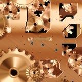 Meccanismo del movimento a orologeria Immagini Stock