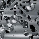 Meccanismo del movimento a orologeria Fotografia Stock