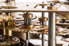 Meccanismo dell'orologio Immagini Stock Libere da Diritti