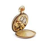 Meccanismo dell'orologio da tasca Immagini Stock