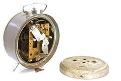 Meccanismo dell'orologio fatto nella tecnica Fotografie Stock