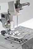 Meccanismo della macchina per cucire Fotografie Stock