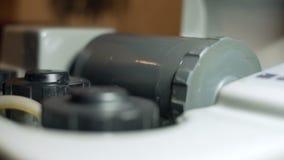 Meccanismo della macchina rotante video d archivio