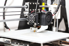 meccanismo della stampante 3d Immagine Stock