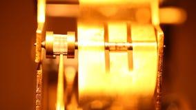Meccanismodi Clockvideo d archivio