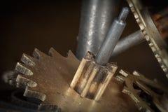 Meccanismo di ingranaggio 0 Fotografia Stock