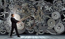Meccanismo di lavoro Immagine Stock