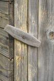 Meccanismo di legno della serratura Immagine Stock Libera da Diritti