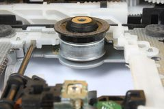 Meccanismo di trascinamento di DVD Fotografia Stock