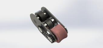 Meccanismo di trasmissione Fotografia Stock