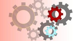 meccanismo E illustrazione di stock