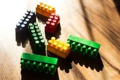 Meccano εξαρτήσεων παιδιών ` s χρώματος Στοκ φωτογραφίες με δικαίωμα ελεύθερης χρήσης