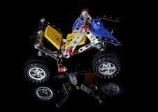 Meccano car Royalty Free Stock Photography