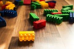 Meccano do jogo do ` s das crianças da cor imagens de stock royalty free