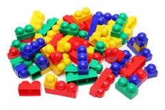 Meccano toy blocks Stock Photo