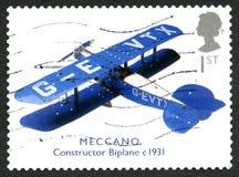 Meccano UK portostämpel Fotografering för Bildbyråer