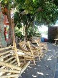 Mecedoras en la isla de la roca en el lago Nicaragua Fotografía de archivo libre de regalías