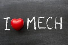 Mech förälskelse Fotografering för Bildbyråer