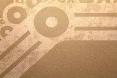 Mech Grunge vintage background Stock Image