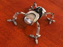Mech spider Royalty Free Stock Images