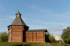 Mech wierza Sumy więzienie w Kolomenskoye, Moskwa obraz stock