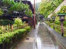 Mech wzgórze przy Ginkakuji srebra pawilonem zdjęcia stock