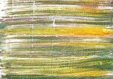 Mech zieleni akwareli abstrakcjonistyczny tło Zdjęcia Stock