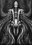 mecha gothique de remous Image stock
