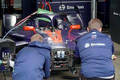 Free Mechanic At Work Checking An Envision Virgin Racing Car Royalty Free Stock Photo - 161167815
