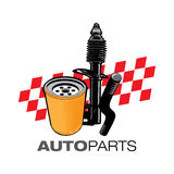 Mechanic Auto parts Royalty Free Stock Photography