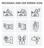 Mechanic car icon Royalty Free Stock Images