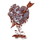 Mechanic heart arrow