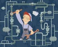 Mechanic Illustration Royalty Free Stock Images
