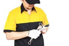 Mechanic man Stock Photography