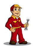 Mechanic man Royalty Free Stock Image