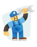 Mechanic repair man Stock Photo