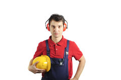 Mechanic safety equipment Stock Image