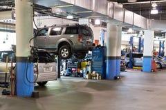 Mechanic shop Stock Photography