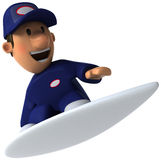 Mechanic surfing Royalty Free Stock Images