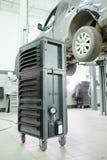 Mechanic tool box. Image of a mechanic tool box stock photos
