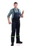 Mechanic with tools Stock Photos