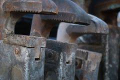 Mechanic tools Royalty Free Stock Photos