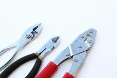 Mechanic tools set isolated Royalty Free Stock Image