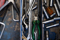 Mechanic Tools Royalty Free Stock Images