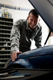 Mechanic at work Royalty Free Stock Photo