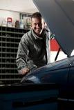 Mechanic at work Royalty Free Stock Photo