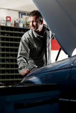Mechanic at work Stock Photo