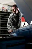 Mechanic at work Stock Photo