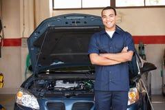 Mechanic at work Royalty Free Stock Image